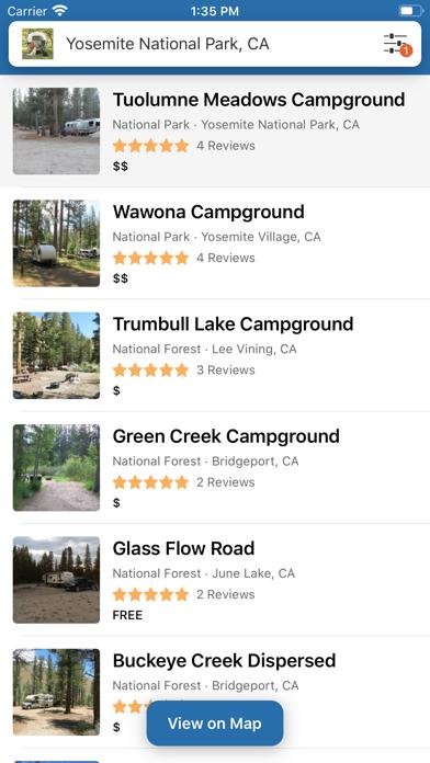 Campendium - RV & Tent Camping Screenshot
