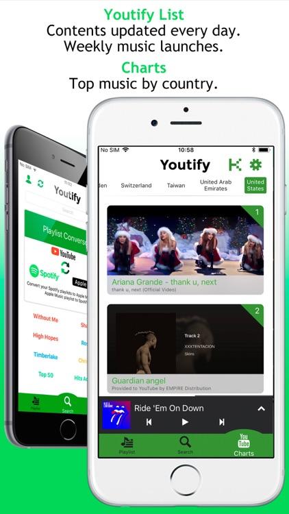 Youtify for Spotify Premium