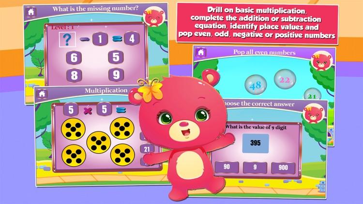 Bears Second Grade Games