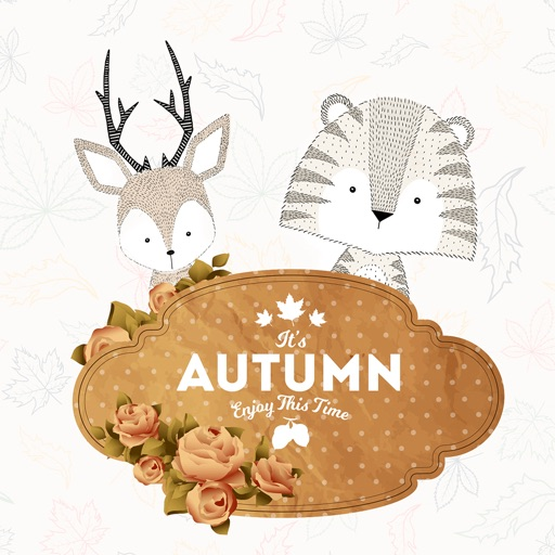 Autumn Love - Greetings Pack