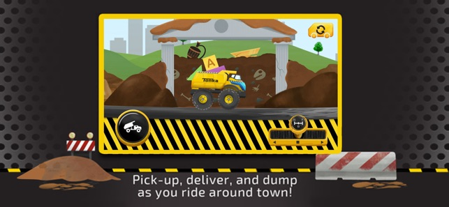 Tonka: Trucks Around Town Screenshot