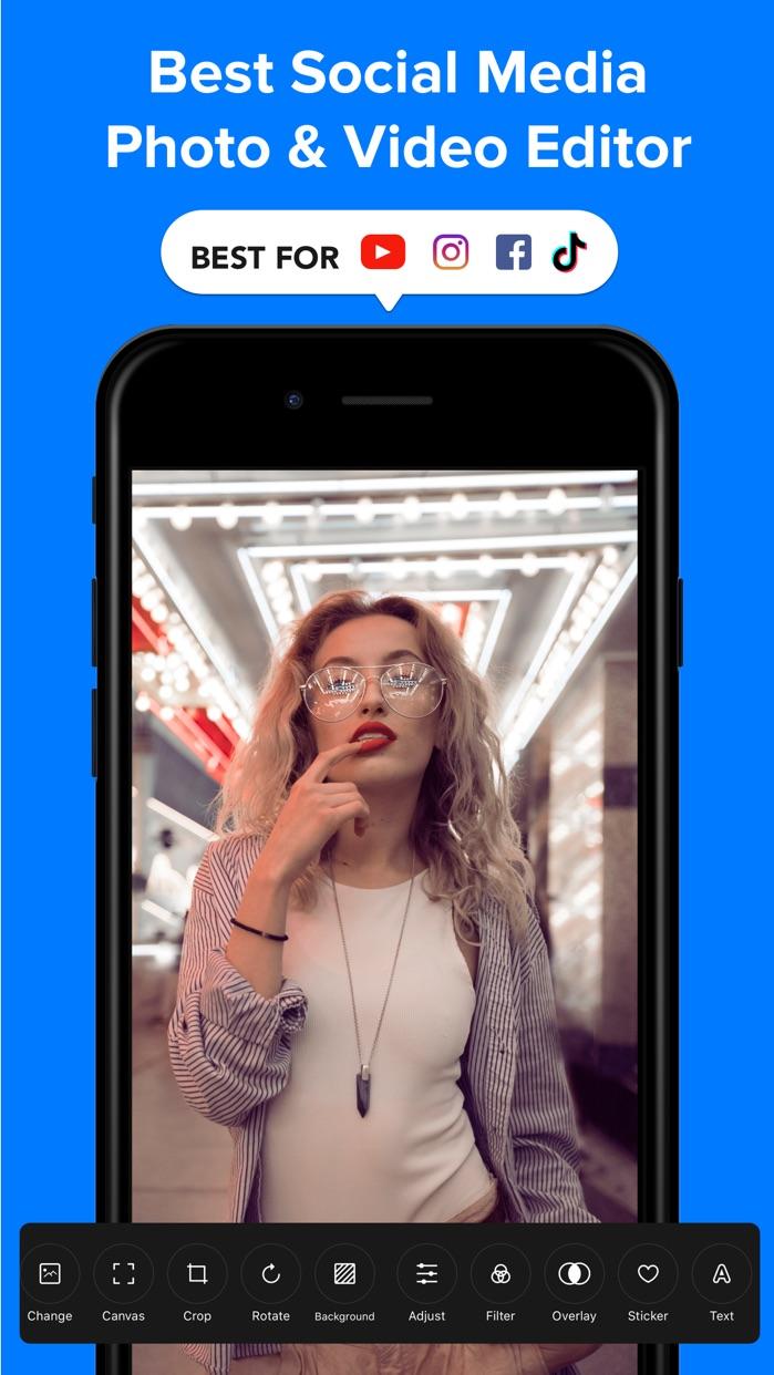 PICFY - Photo & Video Editor Screenshot