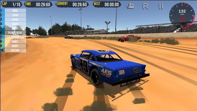 Street Stock Dirt Racing - Sim screenshot-3