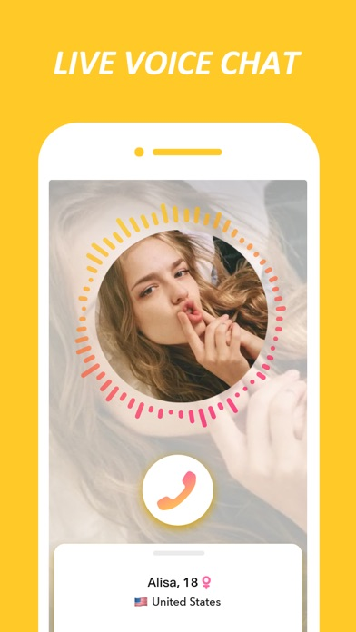 Screenshot for HOLLA: live video chat&dating in United States App Store