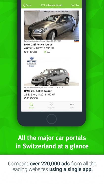 Comparis Car Marketplace