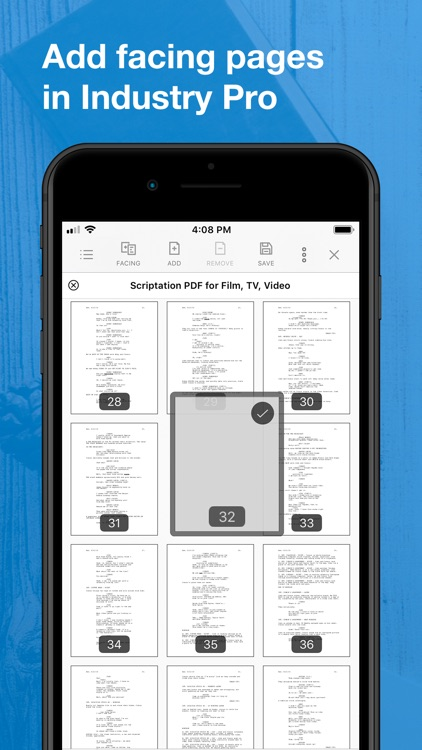 Scriptation PDF for Film & TV screenshot-8