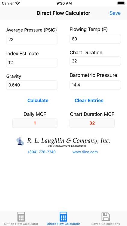 Orifice Flow Rate Calculator screenshot-4