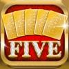 FIVEカード 対戦型心理ゲーム - iPhoneアプリ