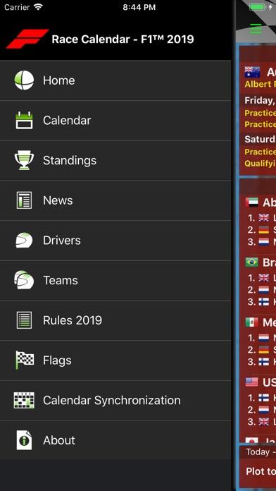 Screenshot for Race Calendar 2019 in Denmark App Store