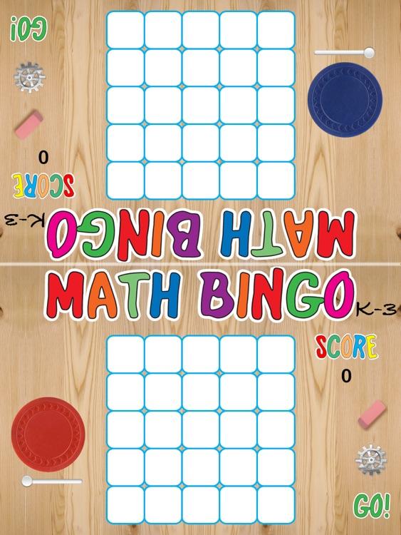 Math Bingo K-3