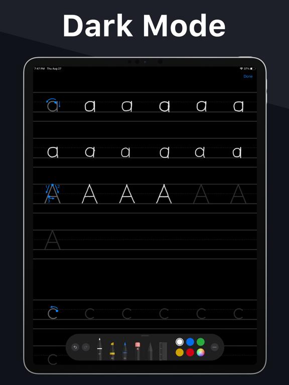 Writey - Practice Handwriting Screenshots