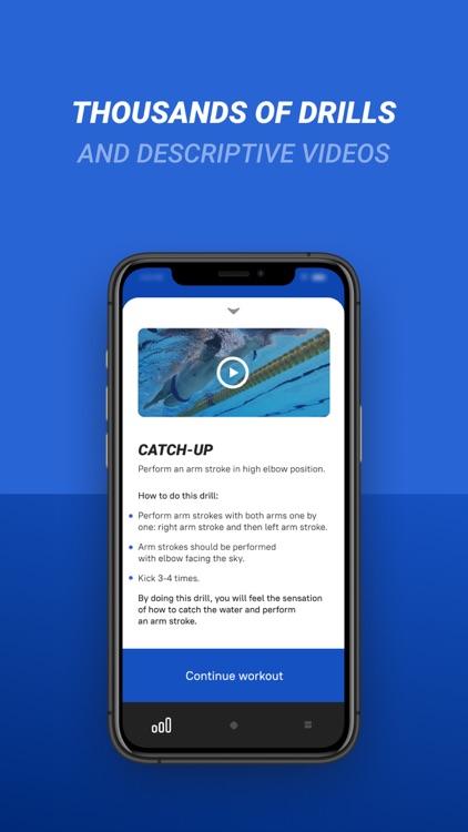 SwimUp - Swimming training screenshot-3
