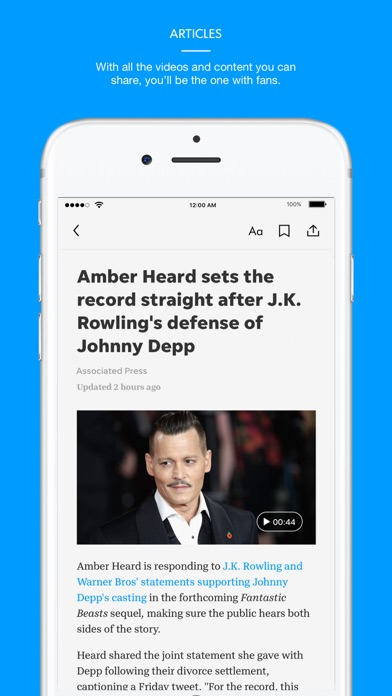 Tennessean Screenshot on iOS