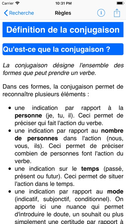 Le Conjugueur screenshot-3