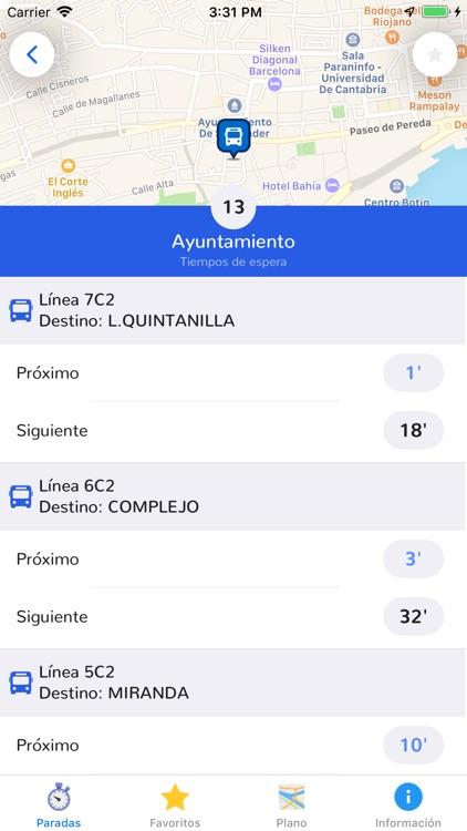Bus Urbano Santander screenshot-4
