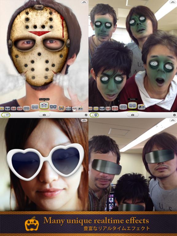 iEyeCamera - リアルタイム変身アプリのおすすめ画像3