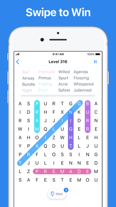 Word Search - Crossword puzzle for windows pc