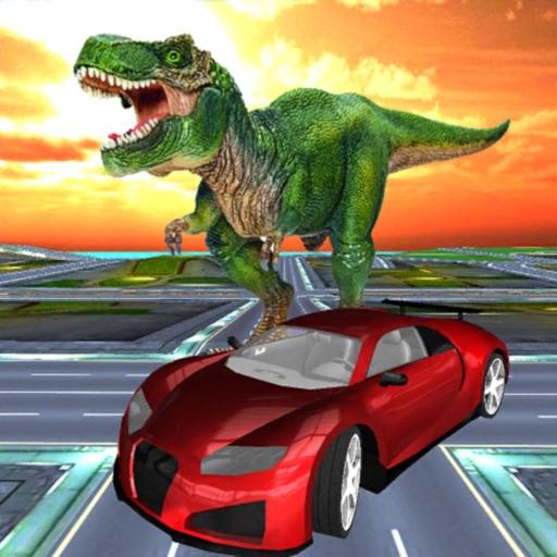 Dinosaur Car Parking Simulator