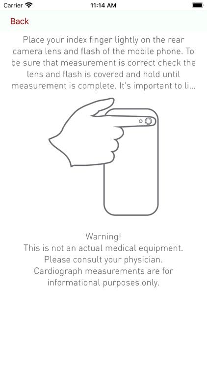Cardiograph Heart Rate Monitor screenshot-4