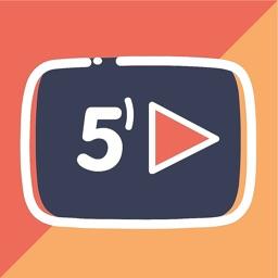 5MinTub - English With Videos