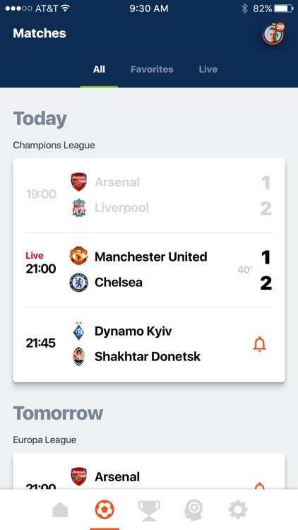 12th Man: soccer live scores