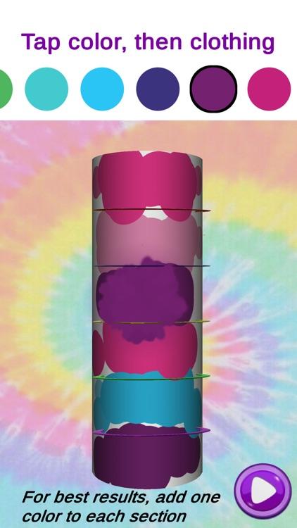 Tie Dye! 3D Art DIY Girl Games screenshot-6
