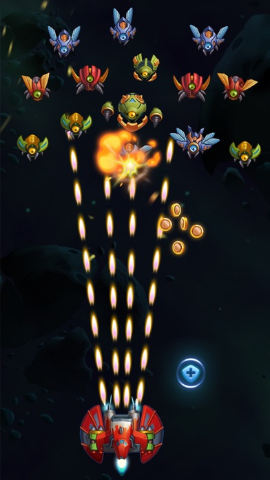 Galaxy Invaders: Alien Shooterのおすすめ画像5