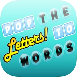 Pop The Letters To Build Words