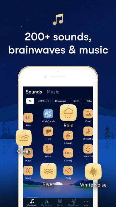 Relax Melodies: Sleep Sounds Screenshot