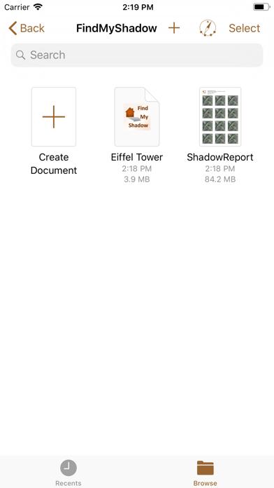 FindMyShadow screenshot three