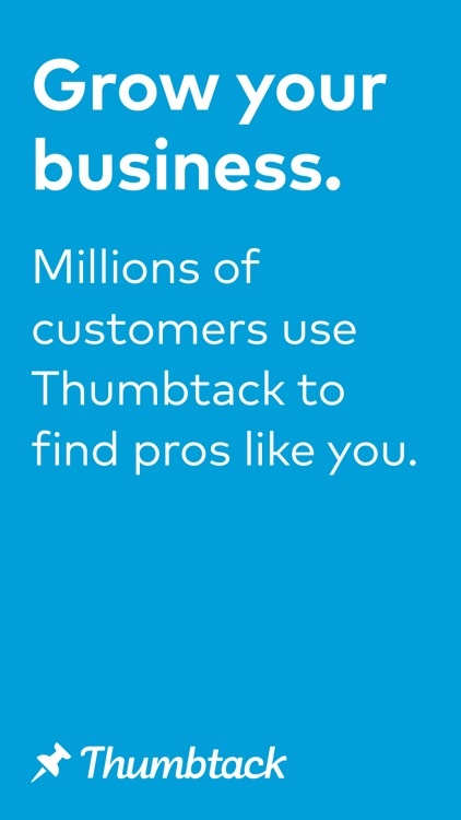 Thumbtack for Professionals screenshot-0