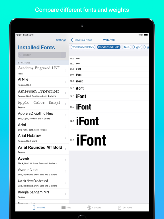 iFont: find, install any font | App Price Drops