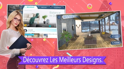 Screenshot for Design My Room: Fashion in France App Store