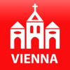 Vienna travel map guide 2020