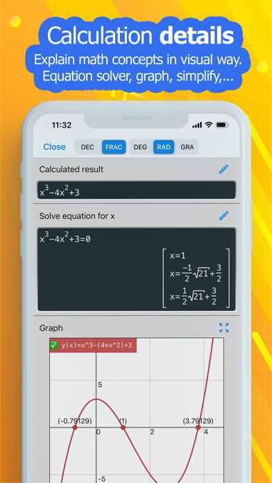 NCalc Taschenrechner PlusScreenshot von 5