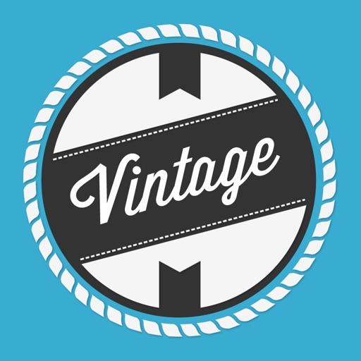 Vintage: Создатель логотипа