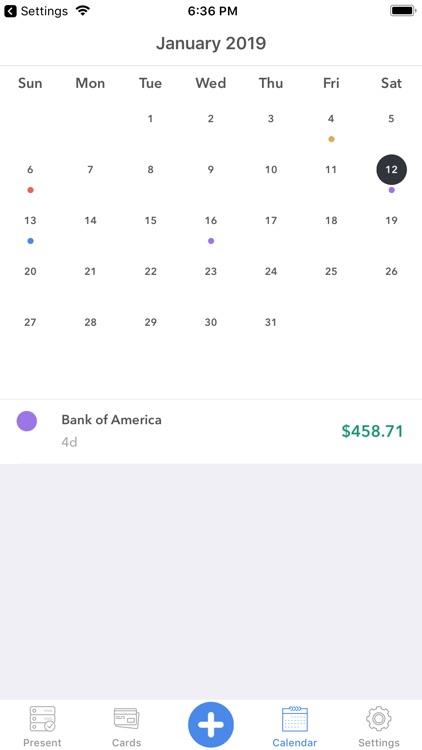 Memento-smart payment reminder screenshot-7