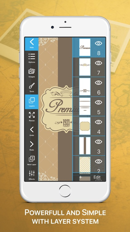 Vintage Logo & Poster Maker screenshot-3