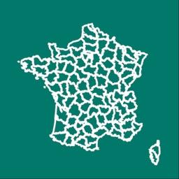 Départements et régions France