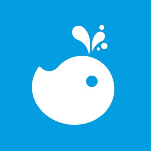 蓝鲸财经app icon图