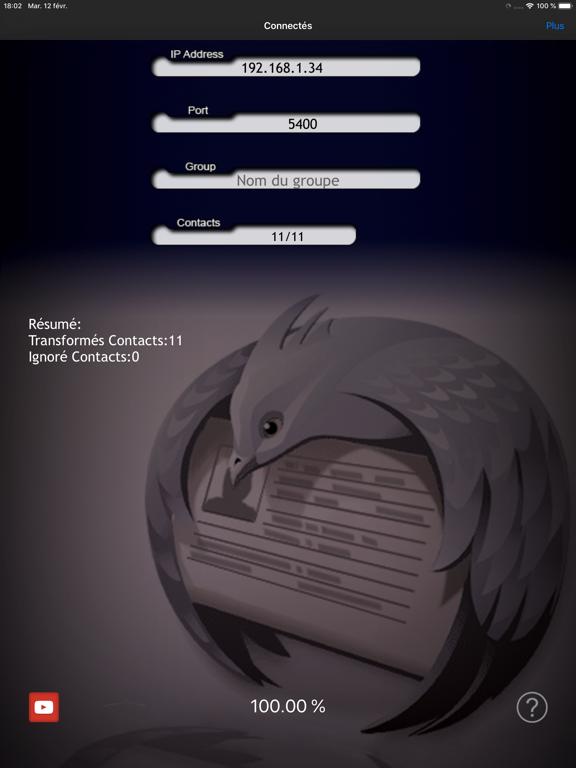 Thunderbird Contact Sync.