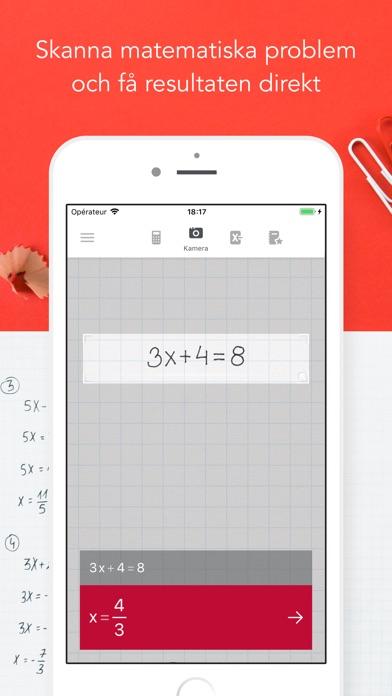 Screenshot for Photomath in Sweden App Store
