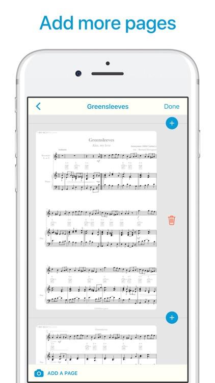 Sheet Music Scanner screenshot-6
