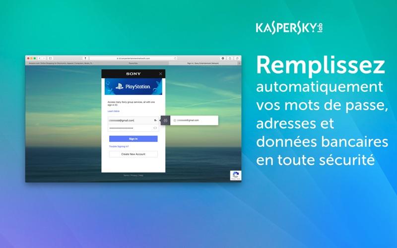 Screenshot #3 pour Kaspersky Password Manager