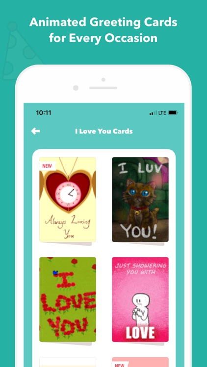 CardSnacks: ecards, greetings screenshot-3