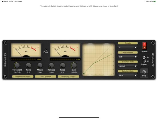 Sidechain Compressor Plugin screenshot 5