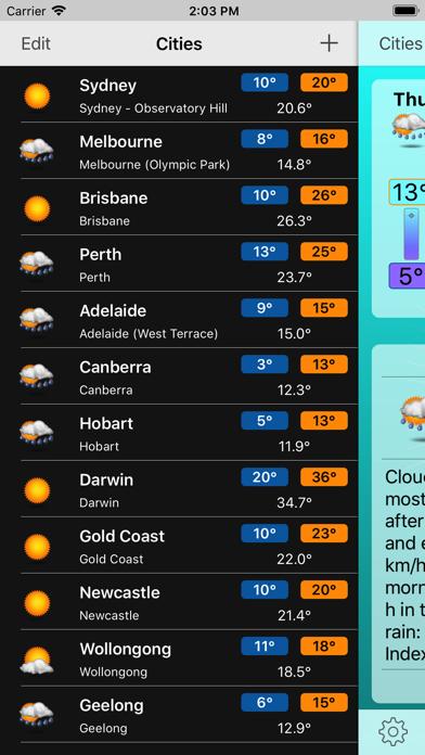 Oz Weather Plusのおすすめ画像4