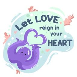 Christian Sticker - Love