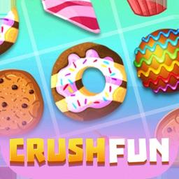 Fun Crush Cake Match 3 Puzzle