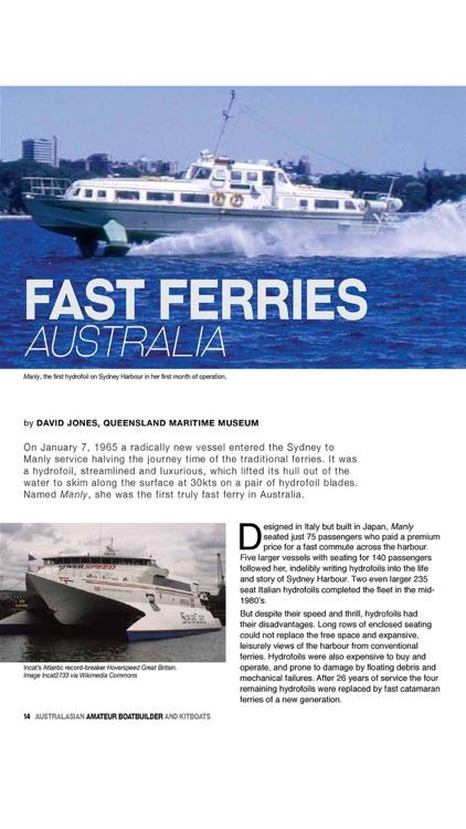 Amateur Boat Builder Magazine